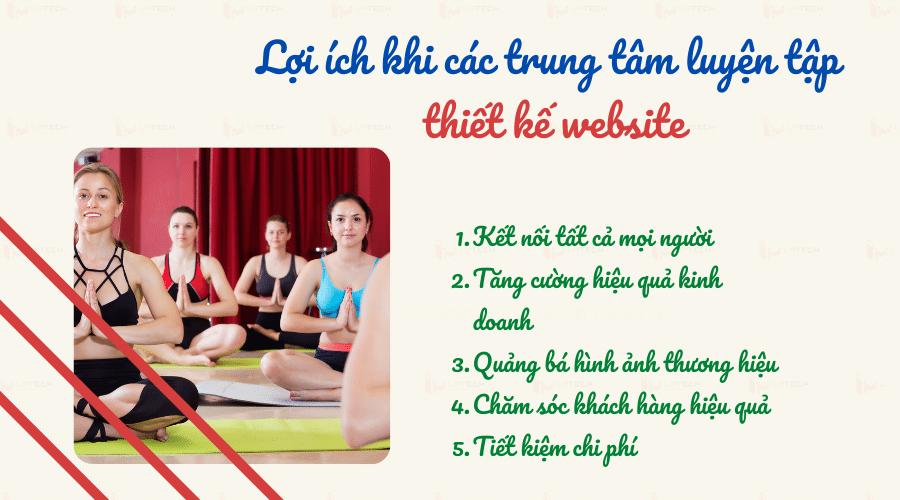 Lợi ích khi thiết kế web Yoga- thiền- khí công
