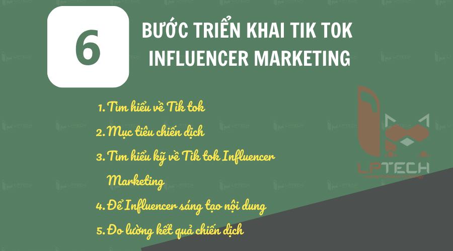 Làm thế nào để triển khai Tik tok Influencer Marketing hiệu quả?