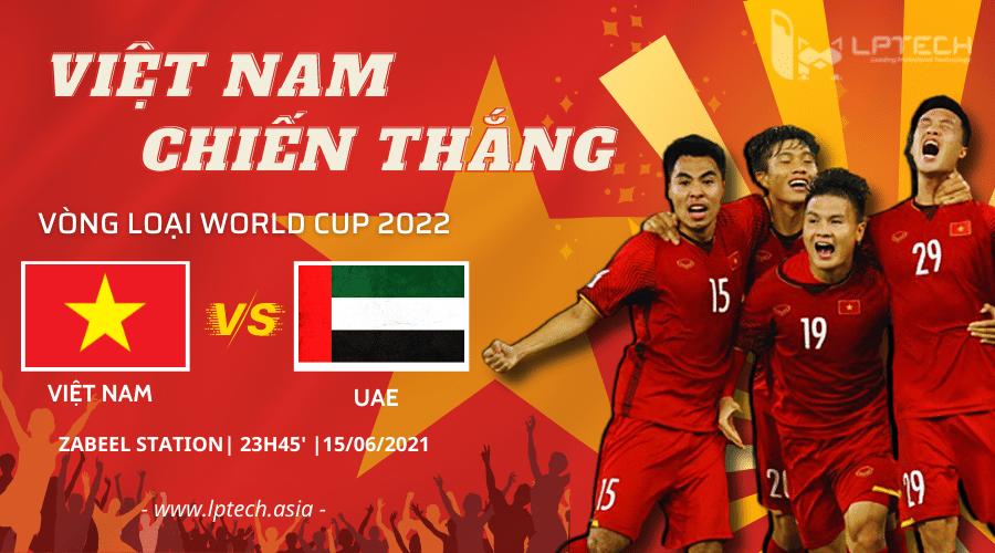 Vòng loại World Cup 2022: Việt Nam - UAE