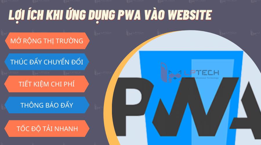 Lợi ích khi nâng tầm website thông qua xây dựng PWA