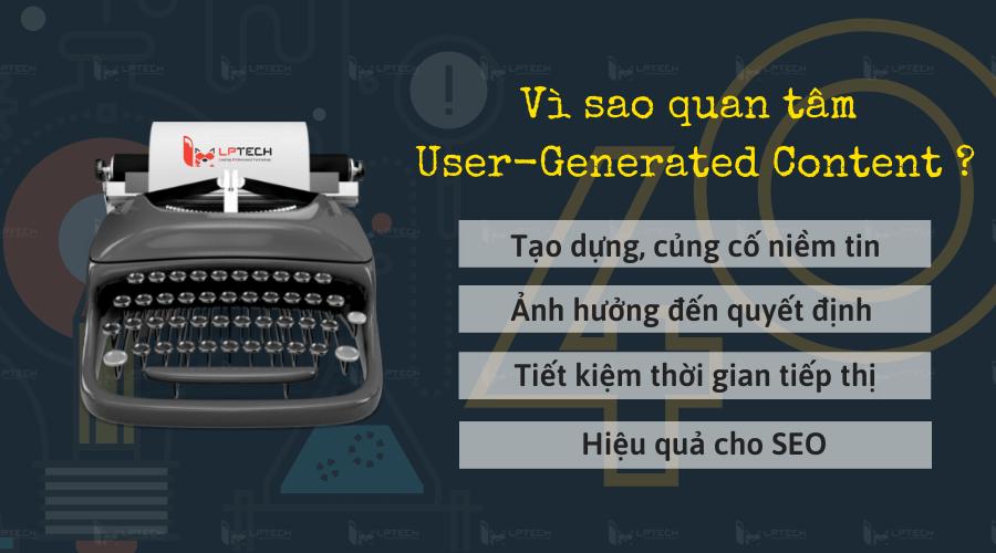 Vì sao User-Generated Content rất được quan tâm?