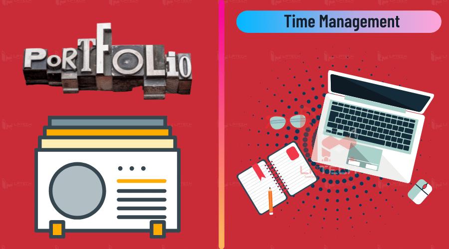 Sở hữu Portfolio chất lượng và kỹ năng quản lý thời gian