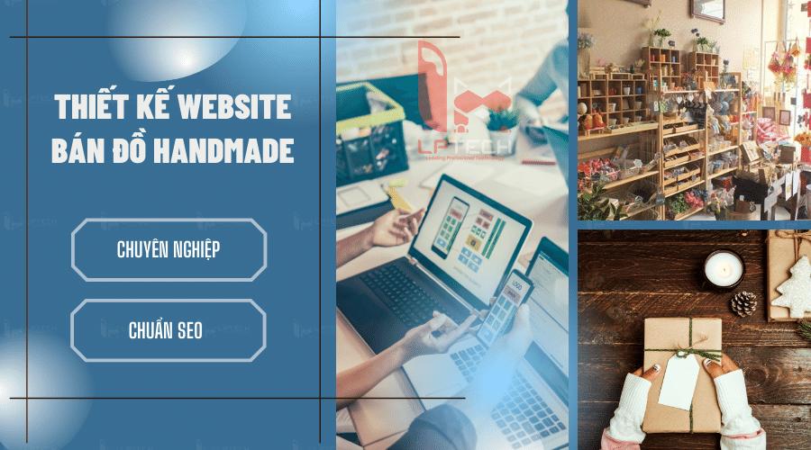 Thiết kế website bán đồ Handmade chuyên nghiệp
