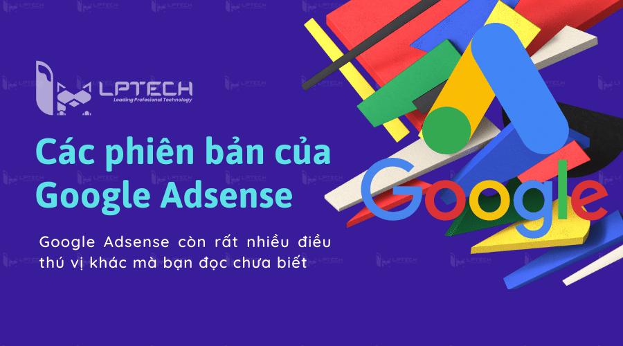 Các phiên bản của Google Adsense