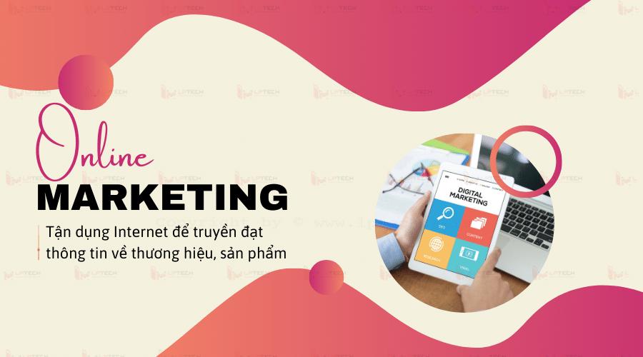 Marketing online tận dụng Internet