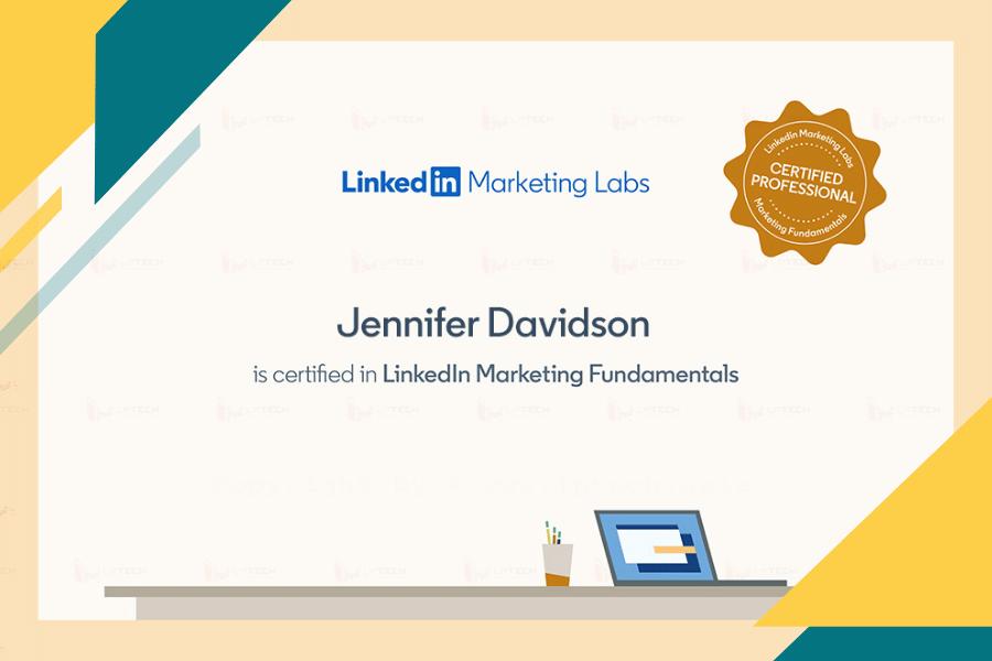 Chứng chỉ LinkedIn Marketing Labs
